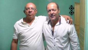 Tonho de Bela (Sanfoneiro) e Almiro (Vocalista)