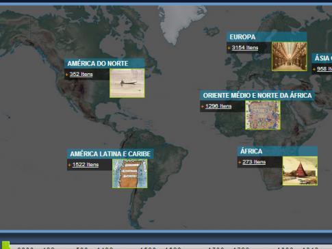 Biblioteca Digital Mundial reúne acervo histórico em sete línguas