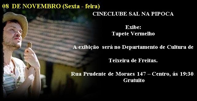 Cineclube Sal na Pipoca exibe