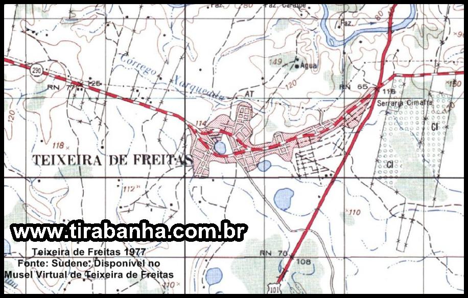 O Saneamento Básico na História de Teixeira de Freitas parte 01
