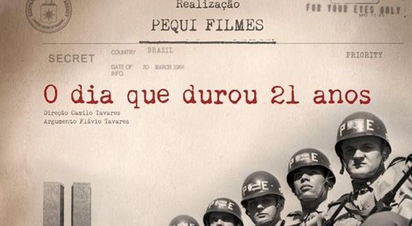 Conversê Cineclube exibe:  O dia que durou 21 anos