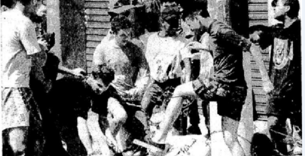 Relatos sobre os anos 80 em Teixeira de Freitas: A Malhação do Judas