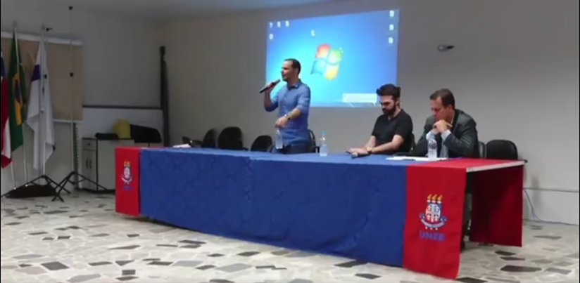 """""""A reforma trabalhista e seus impactos"""" foi o tema de palestra na UNEB"""