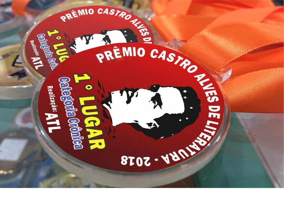 As inscrições pro Prêmio Castro Alves de Literatura 2018 vão até 31 de janeiro; divulguem e participem