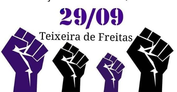 Coletivo Feminista organiza manifestação em Teixeira de Freitas