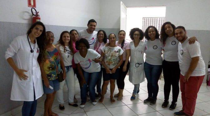 Unidade básica de saúde realizou abertura do Outubro Rosa