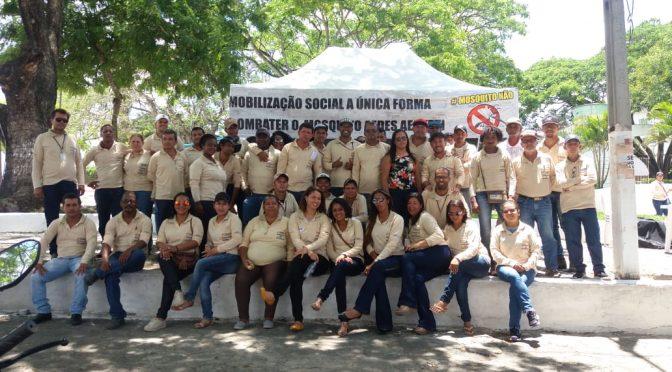 """Registros do """"Dia D"""" contra o Aedes Aegypti em Teixeira de Freitas"""