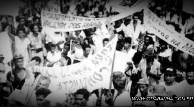 O extremo sul da Bahia e o Dia internacional dos Trabalhadores de  1988